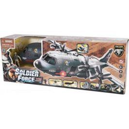 Игровой набор CHAP MEI Военно-транспортный самолет (3 фигуры, звук, свет) 521015