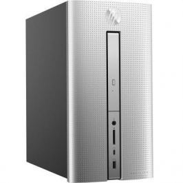 Системный блок HP Pavilion 570 570-p051ur i5-7400 3.0GHz 8Gb 2Tb 128Gb SSD GTX 1050-2Gb DVD-RW Win10 клавиатура мышь серебристый 1GS91EA