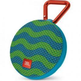 Акустическая система JBL Clip 2 сине-зеленый JBLCLIP2SPLASH