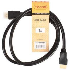 Кабель HDMI 1.0м VCOM Telecom V1.4+3D CG150S-1M