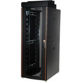 """Шкаф напольный 19"""" 47U Estap CloudMax CLD70647U8012BF1R1 800x1200mm передняя дверь одностворчатая перфорированная задняя дверь двустворчатая перфорированная черный"""