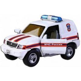 Машина Пламенный мотор 1:36 Mitsubishi МЧС России, свет, звук, откр.двери, 13см 870204