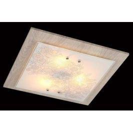 Потолочный светильник Eurosvet 40067/3 хром/светлое дерево