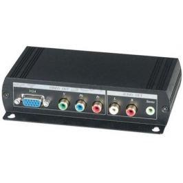 Преобразователь SC&T HVY01 для HDMI в VGA или компонентный видеосигнал и стерео аудиосигнал