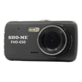 "Видеорегистратор Sho-Me FHD-650 4"" 1920x1080 120° G-сенсор USB microSD microSDHC"