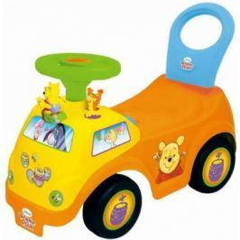 Каталка-машинка Kiddieland Винни желтый от 1 года пластик