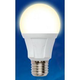 Лампа светодиодная (UL-00001524) E27 10W 3000K груша матовая LED-A60 10W/WW/E27/FR PLP01WH