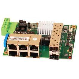 Коммутатор Osnovo SW-50602/I-P неуправляемый 6 портов 10/100Mbps 2xSFP