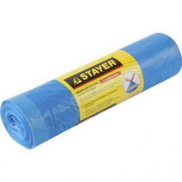 Пакеты для мусора Stayer Comfort завязками 30л 20шт голубой 39155-30