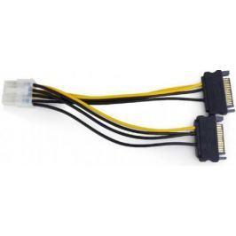 Разветвитель питания Cablexpert CC-PSU-83, 2xSATA->PCI-Express 8pin, для подключения в/к PCI-Е (8pin) к б/п ATX
