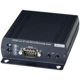 Приемник SC&T HE05BR HDMI RS232 аудио и ИК сигналов по Ethernet