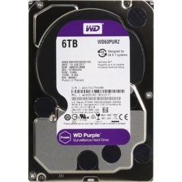 "Жесткий диск 3.5"" 6 Tb 5400rpm 64Mb cache Western Digital Purple SATAIII WD60PURZ"