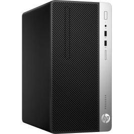 Системный блок HP ProDesk 400 G4 G4560 3.5GHz 4Gb 500Gb HD510 DVD-RW Win10Pro клавиатура мышь серебристо-черный 1EY20EA