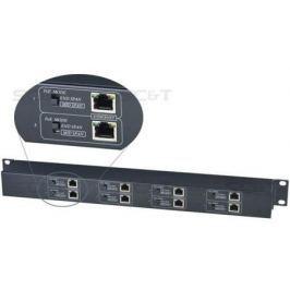 Приемник Ethernet и питания PoE SC&T IP08P 8-канальный