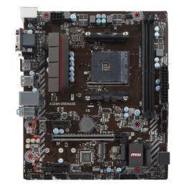 Материнская плата MSI A320M GRENADE Socket AM4 AMD A320 2xDDR4 1xPCI-E 16x 2xPCI-E 1x 4 mATX Retail