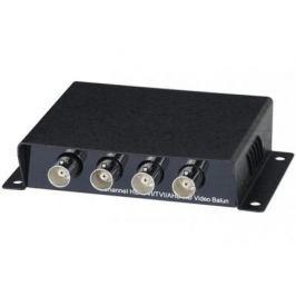 Приемопередатчик видеосигнала SC&T TTP414HD пассивный 4-канальный