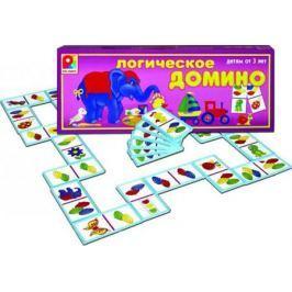 Настольная игра Радуга развивающая Логическое домино Цвет С-572