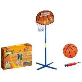 Баскетбольная стойка 1toy с мячом Т10010