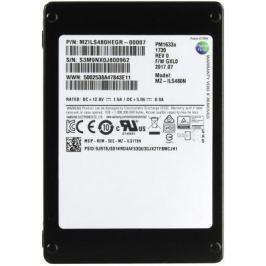 "Жесткий диск 2.5"" SSD 480Gb Samsung PM1633A SAS MZILS480HEGR-00007"