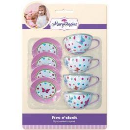 Набор посуды Mary Poppins Бабочки металлическая 453023