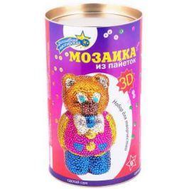 """Мозайка из пайеток Волшебная мастерская """"Мишка"""" 3D-03"""