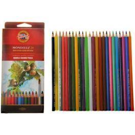 Набор цветных карандашей Koh-i-Noor Mondeluz 24 шт 3718024001KSRU