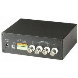 Приемник SC&T TTA414VR 2 активный 4-х канальный приемник видео сигнала по витой паре