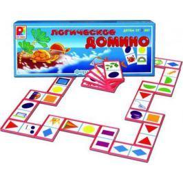 Настольная игра Радуга развивающая Логическое домино Форма С-573