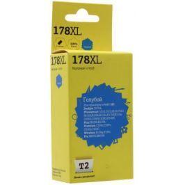 Картридж T2 №178XL для HP Deskjet 3070A/Photosmart 6510/7510/B110/C8583 голубой 750стр CB323HE