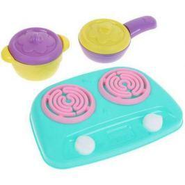 Набор посуды ШКОДА 4 предмета с плитой ШКД02 в ассортименте
