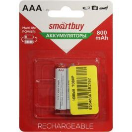 Аккумуляторы Smart Buy SBBR-3A02BL800 800 mAh AAA 2 шт HR03-2BL