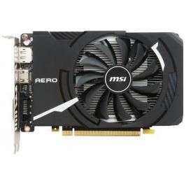 Видеокарта 4096Mb MSI GeForce GTX1050Ti PCI-E GDDR5 GTX 1050 TI AERO ITX 4G OC V1 Retail