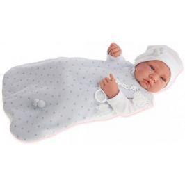 "Кукла-младенец Munecas Antonio Juan ""Кармело в голубом"" 42 см —"