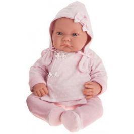 "Кукла Munecas Antonio Juan ""Алисия"" 40 см в розовом 3368P"