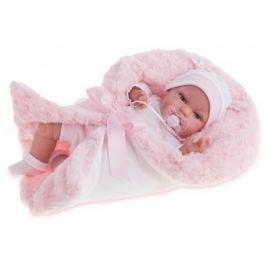 """Кукла Munecas Antonio Juan """"Вита"""" 34 см со звуком в розовом 7030P"""