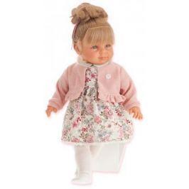 """Кукла Munecas Antonio Juan """"Нина"""" 55 см в розовом 1820P"""