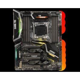 Материнская плата MSI X299 GAMING PRO CARBON Socket 2066 X299 8xDDR4 4xPCI-E 16x 2xPCI-E 1x 8 ATX Retail