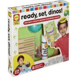 """Набор для изготовления игрушек ALEX """"Динозавры"""" от 4 лет 250020-3"""