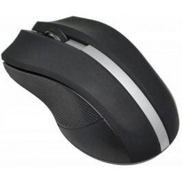 Мышь беспроводная Oklick 615MW чёрный серебристый USB