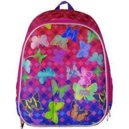 Рюкзак с анатомической спинкой Action! Animal Planet Бабочки 17 л розовый разноцветный AP-ASB4614/1/17