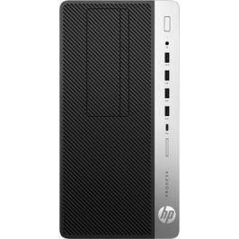 Системный блок HP ProDesk 600 G3 MT i5-7500 3.4GHz 8Gb 256Gb SSD DVD-RW HD 630 Win10Pro серебристо-черный 1HK50EA