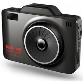 """Видеорегистратор Sho-Me Combo Smart Signature 2.31"""" 1920x1080 135° G-сенсор microSD microSDHC с радар-детектором"""