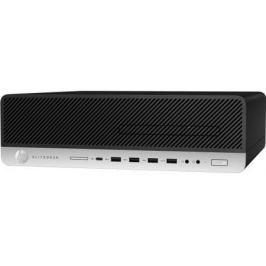 Системный блок HP EliteDesk 800 G3 SFF i5-7500 3.4GHz 8Gb 256Gb SSD HD630 DVD-RW Win10Pro клавиатура мышь серебристо-черный 1FU43AW