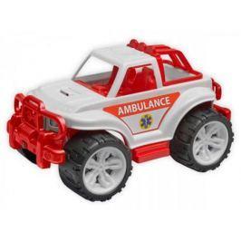 Машина ТехноК «Внедорожник» Скорая помощь 3534 бело-красный