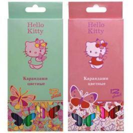 """Набор цветных карандашей Action! """"Hello Kitty"""" 12 шт"""