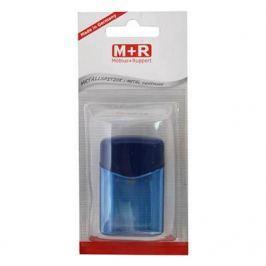 Точилка M+R QUATTRO SWING пластик синий 0923-0052