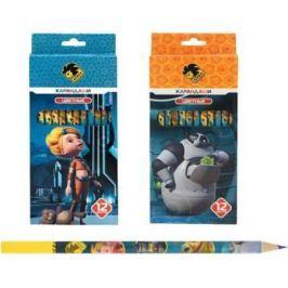 Набор цветных карандашей Action! Алиса, с печатью на корпусе 12 шт в ассортименте AZ-ACP205-12