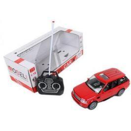 Машинка на радиоуправлении Shantou Gepai Model Car Джип пластик от 3 лет красный 4 канала, свет, 1:18, 501