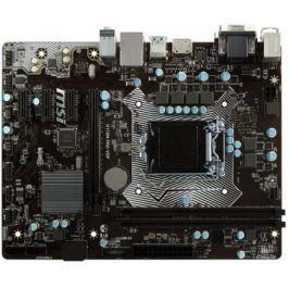 Материнская плата MSI H110M PRO-VDP Socket 1151 H110 2xDDR4 1xPCI-E 16x 3xPCI-E 1x 4 mATX Retail