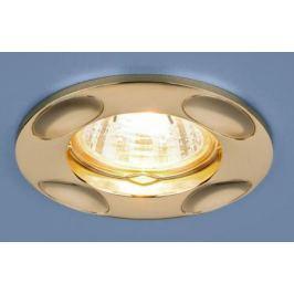 Встраиваемый светильник Elektrostandard 7008 MR16 GD золото 4690389098475